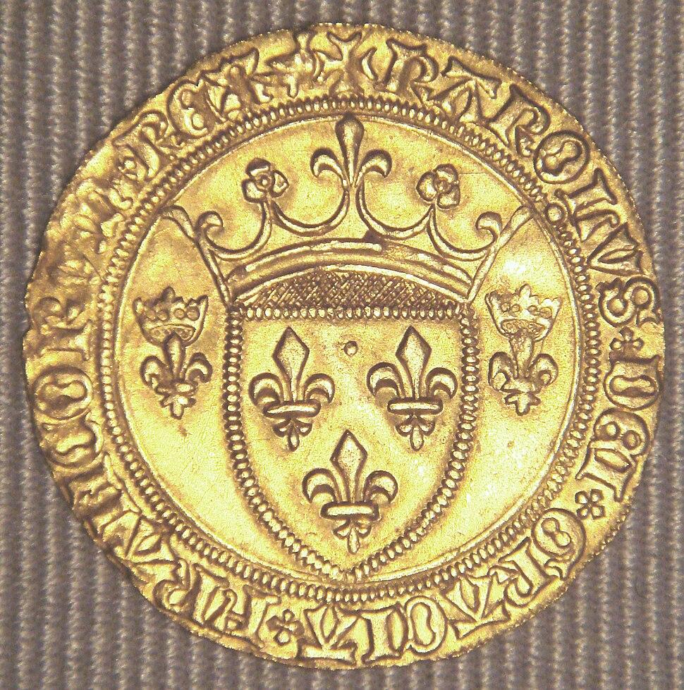 Charles VII Ecu neuf 1436