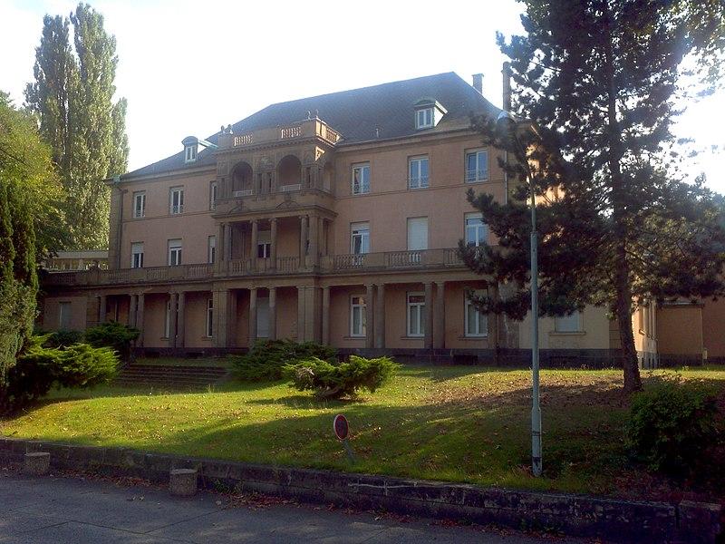 Château Adt à Forbach, Lorraine