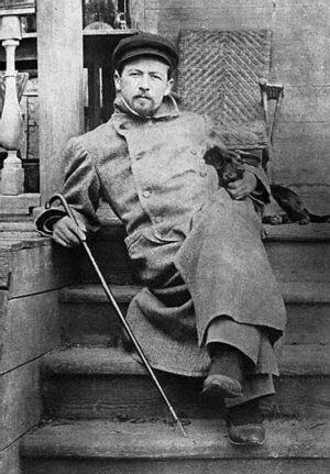 Chekhov at Melikhovo..jpg
