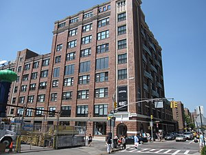 Chelsea Market - Chelsea Market from south on Ninth Avenue