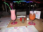 Cheri's Cafe cocktails, Maho, St Maarten, Oct 2014 (15756652405).jpg