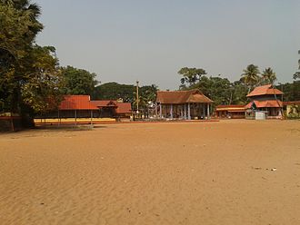 Karthyayani Devi Temple, Cherthala - Image: Cherthala Devi temple 1