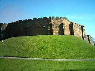 Timeline of Cheshire history - Chester Castle