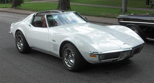 Chevrolet Corvette Stingray 1971 - Falköping cruising 2010 - 7074