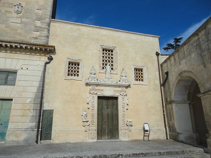 File:Chiesa dellAssunzione della vergine di Melpignano ...