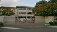 Chihaya West Elementary School Main Gate.jpg
