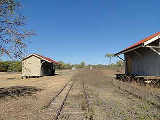 Chillagoe Railway & Mining Co. - Chillago Railway Station, 2014