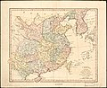 China, contains 15 subject provinces, including the islands of Hainan, Formosa, and the tributary kingdoms of Corea, Tonkin. LOC 2006629356.jpg
