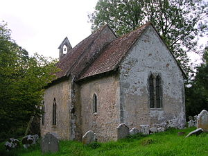 Trotton with Chithurst - Image: Chithurst Church 2