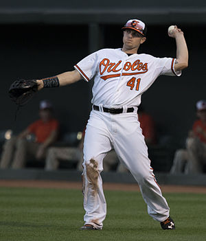 Chris Parmelee - Parmelee with the Baltimore Orioles in 2015