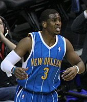 Chris Paul against the Washington Wizards