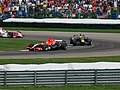 Christijan Albers, David Coulthard and Sakon Yamamoto 2006 Indianapolis.jpg