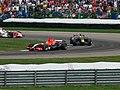 Christijan Albers, David Coulthard and Sakon Yamamoto 2006 Indianapolis.jpg