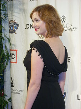 Christina Hendricks in 2008.