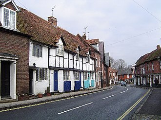 Chesham - Church Street in Chesham old town