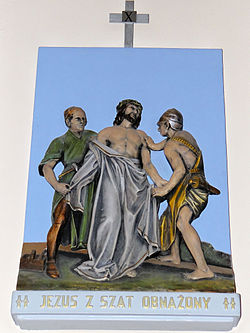 Church of the Assumption of Mary in Kock - Stations of the Cross - 10.jpg