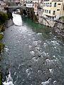 Cicagna-ponte antico e torrente Lavagna.jpg