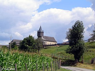 Camou-Cihigue - Church of Cihigue