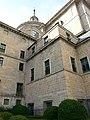 Cimborrio, Frontispicio exterior de la Capilla Mayor y Exterior del Palacio del siglo XVI del Monasterio de El Escorial 06.jpg