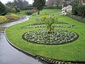 Circular flowerbed within the grounds of Guildford Castle - geograph.org.uk - 1080722.jpg