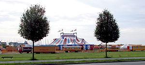 Tangkrogen - Image: Cirkus Benneweis