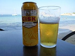 Simonds Farsons Cisk - Image: Cisk Lager and Beach