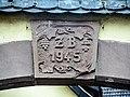 Clé de linteau, datée, à Orschwiller.jpg