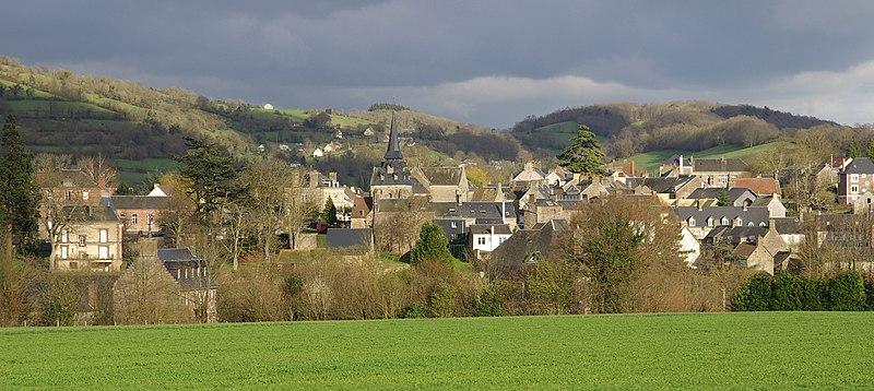 bourg de Clécy