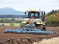 Claas Challenger 75E and Lemken Zirkon Power Harrow - geograph.org.uk - 1547252.jpg