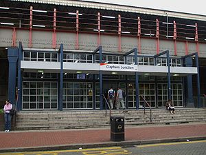 Clapham Junction stn north entrance.JPG