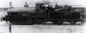 1890 in South Africa - Namaqualand 0-6-2 Clara Class