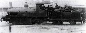 Namaqualand 0-6-2 Clara Class - Cape Copper Company no. 4 Clara, c. 1890