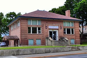 National Register of Historic Places listings in Asotin County, Washington - Image: Clarkston Public Library 1 Clarkston Washington