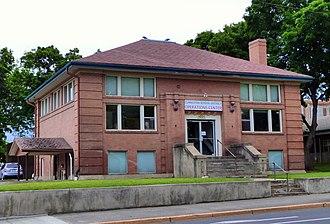 National Register of Historic Places listings in Asotin County, Washington - Image: Clarkston Public Library 1 Clarkston Washington