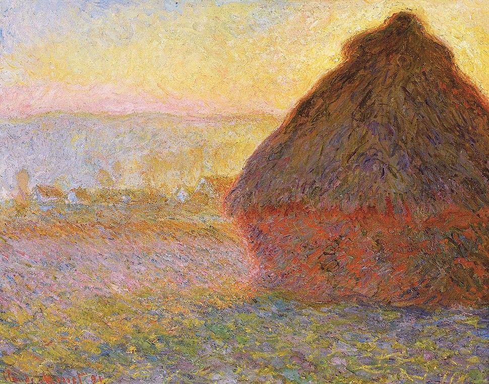 Claude Monet - Graystaks I