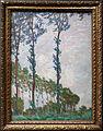 Claude monet, effetto di vento, serie dei pioppi, 1891.JPG