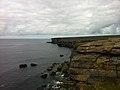 Cliffs and sea - Black Fort (6031109838).jpg