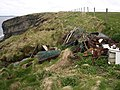 Clifftop obstacles - geograph.org.uk - 181578.jpg