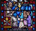 Clonmel SS. Peter and Paul's Church East Aisle Window 10 Saint Pius X Detail Eucharist 2012 09 07.jpg