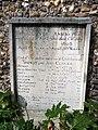 Clover family headstone, Aylsham, Norfolk.jpg