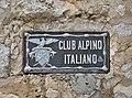 Club Alpino Italiano sign at the Langkofelhütte.jpg