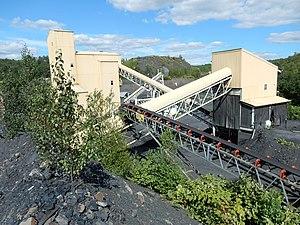 Butler Township, Schuylkill County, Pennsylvania - Image: Coal Mining in Butler Twp, Schuylkill Co PA 01