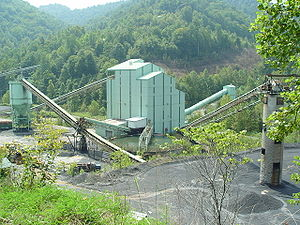 "Coal preparation plant - A coal ""washer"" in Eastern Kentucky"