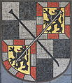 Coat of Arms Bayreuth (mosaic, town hall).jpg