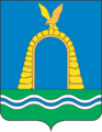 Coat of Arms of Bataisk (Rostov oblast) (2003).png