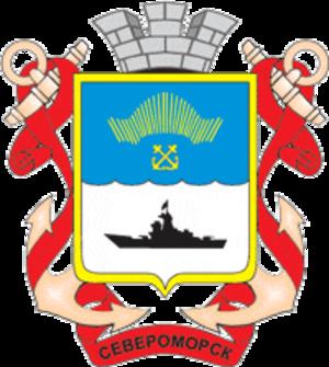 Severomorsk - Image: Coat of Arms of Severomorsk (Murmansk oblast)