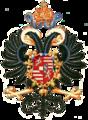 Coat of arms of Maximilian II, Holy Roman Emperor.png