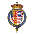 Coat of arms of Sir Francis Talbot, 5th Earl of Shrewsbury, KG.png