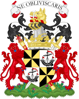 Duke of Argyll - Image: Coat of arms of the duke of Argyll