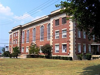 National Register of Historic Places listings in Cocke County, Tennessee - Image: Cocke county tennessee courthouse
